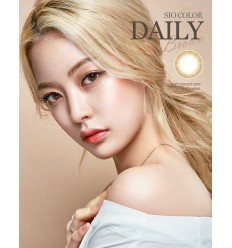 O-LENS SIO COLOR DAILY BROWN [IN STOCK]